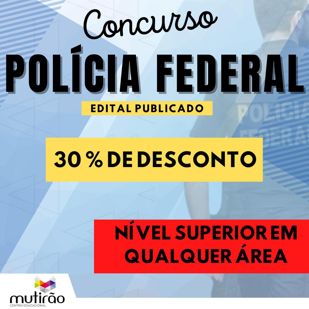 Prep. Conc. Polícia Federal
