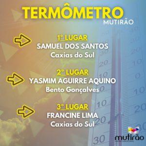 Termômetro Mutirão