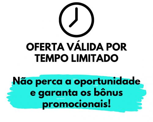 Essa oferta é por tempo limitado. (7)
